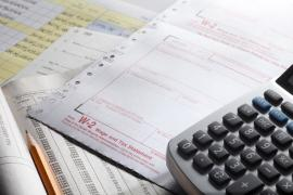 Taxes being filed